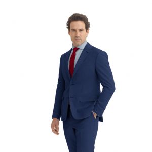Modern Two-Piece w/Dormeuil Cloth - Ezra Cayman Bespoke Couture