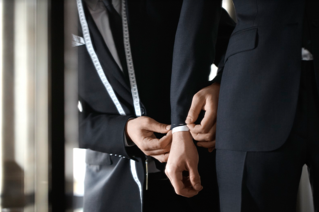Couture brings the world's finest fabric mills -Ezra Cayman Bespoke Couture
